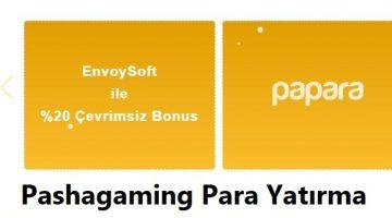 Pashagaming para yatırma